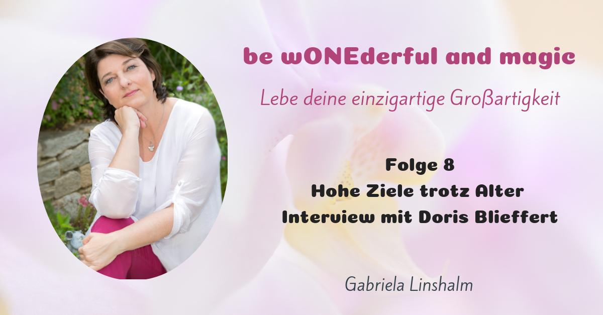 [8] Hohe Ziele trotz Alter – Interview mit Doris Blieffert