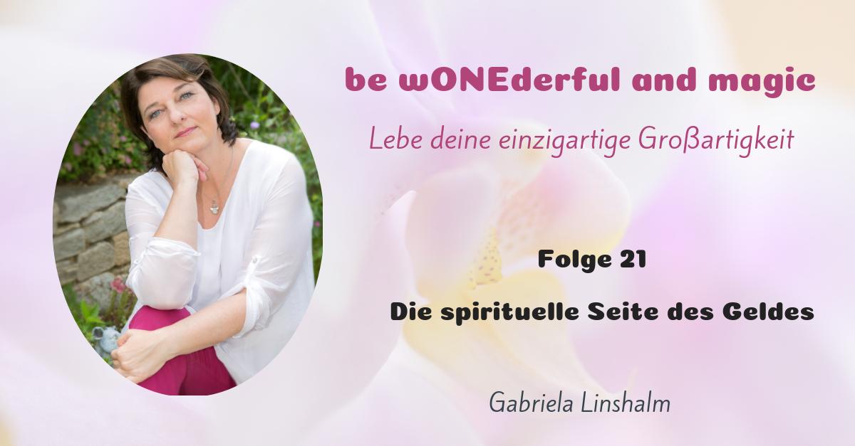 [21] Die spirituelle Seite des Geldes