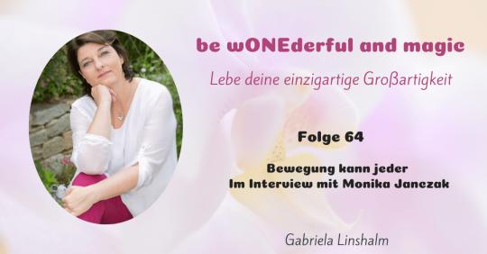 [64] Bewegung kann jeder – ein Interview mit Monika Janczak